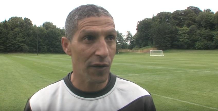 Chris Hughton, Manager of Birmingham City FC, talks to Fota Island Resort