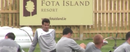 Nick Davies from Birmingham City FC talks to Fota Island Resort