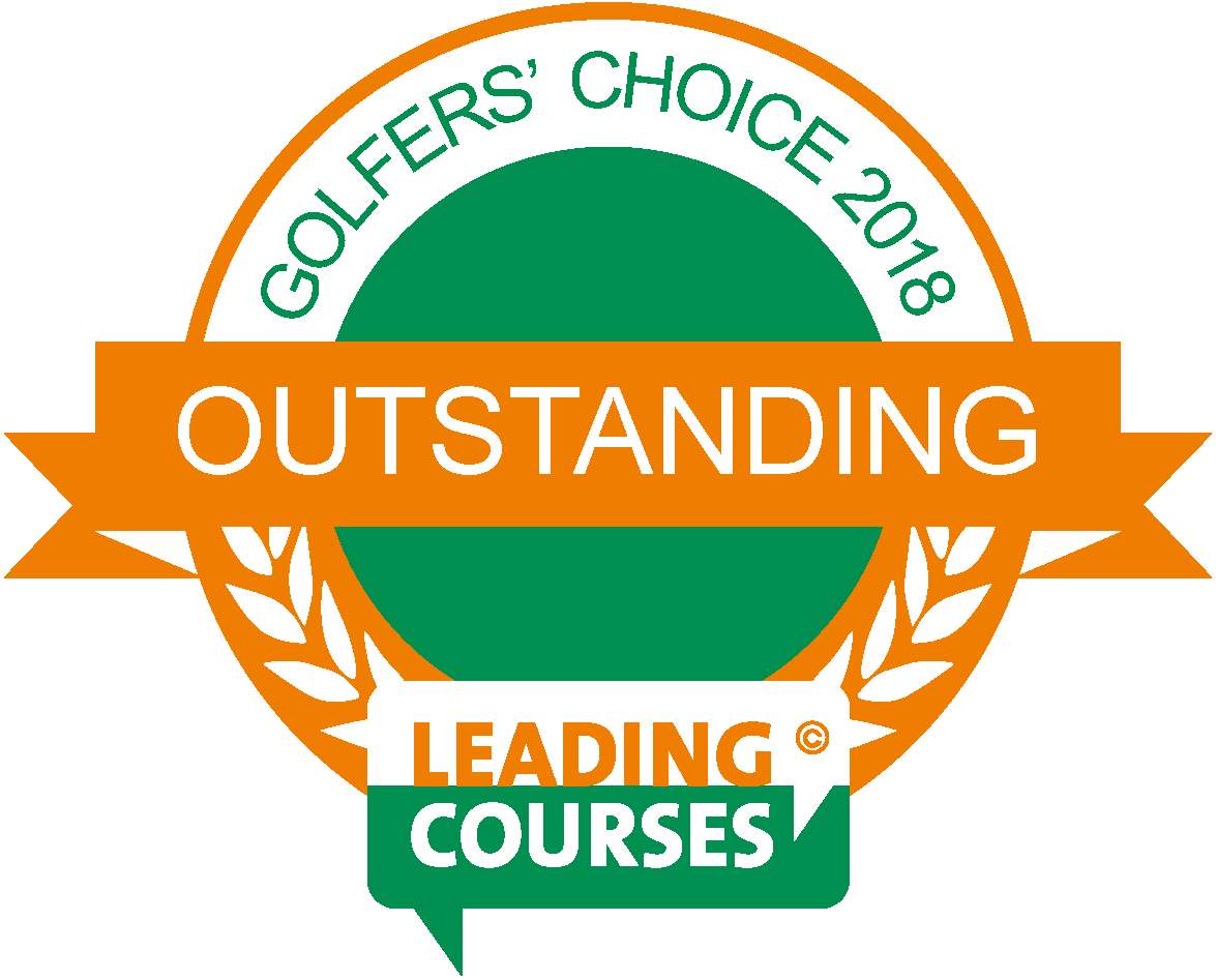 Golfers' Choice Awards 2018 - Outstanding on Leadingcourses.com